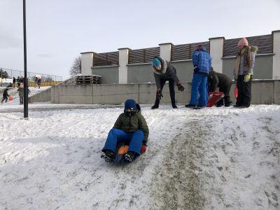 VS Pinkafeld 5.FÖK Bobfahren