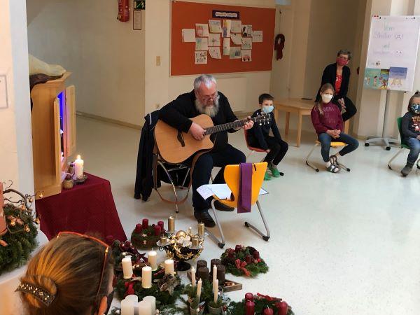 VS Pinkafeld Adventkranzweihe 2020