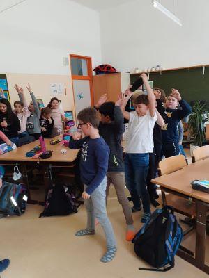 VS Pinkafeld, 4b, Beitrag, Bewegung