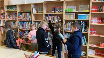 VS Pinkafeld, Beitrag, 4b, Bücherei
