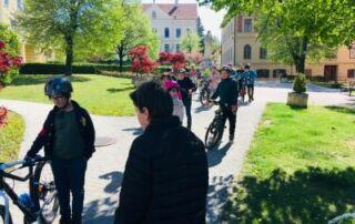 VS Pinkafeld, Fahrradprüfung, Beitrag, 4a