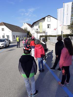VS Pinkafeld, Beitrag, 4b, Radfahrprüfung