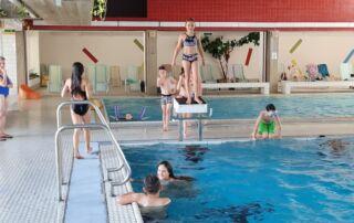 VS Pinkafeld, Beitrag, 3b, Schwimmvormittag