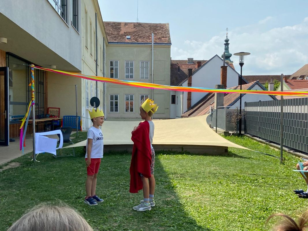 VS Pinkafeld, Beitrag, Tagesheim, Besuch