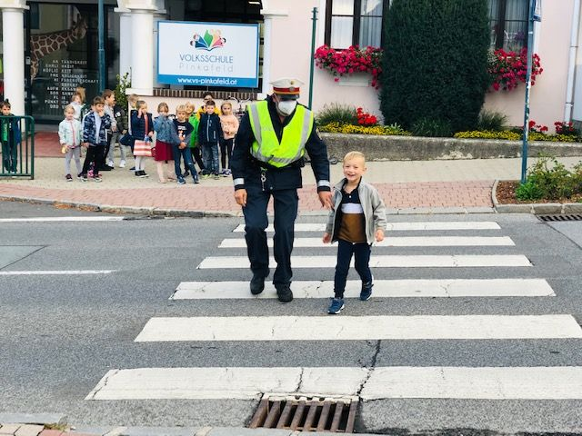 VS Pinkafeld, Beitrag, 1c, Verkehrserziehung